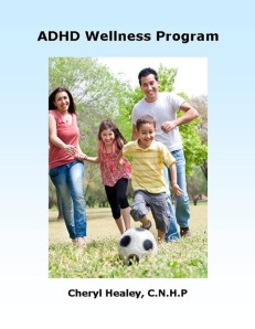 ADHD Wellness Program Cover Page V4
